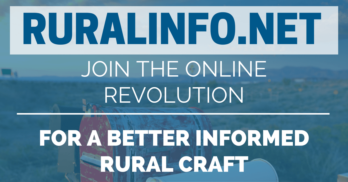 Ruralinfo net – YES, THIS IS THE WEBSITE THE UNION WARNED